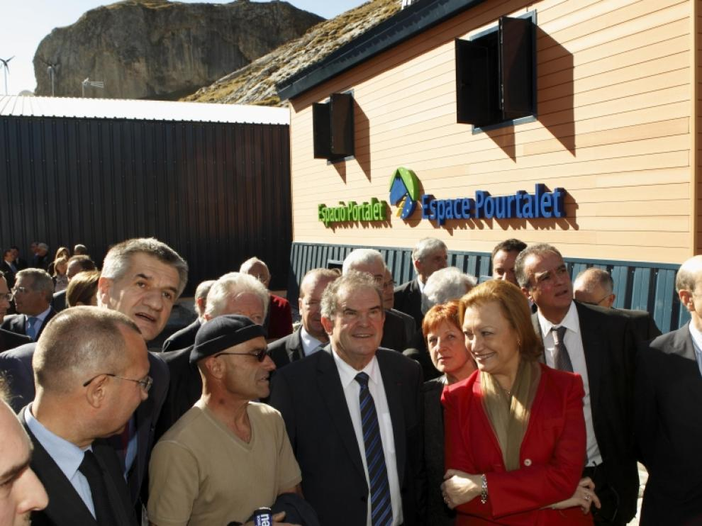 Centro para la vialidad invernal del Portalet inaugurado en 2014