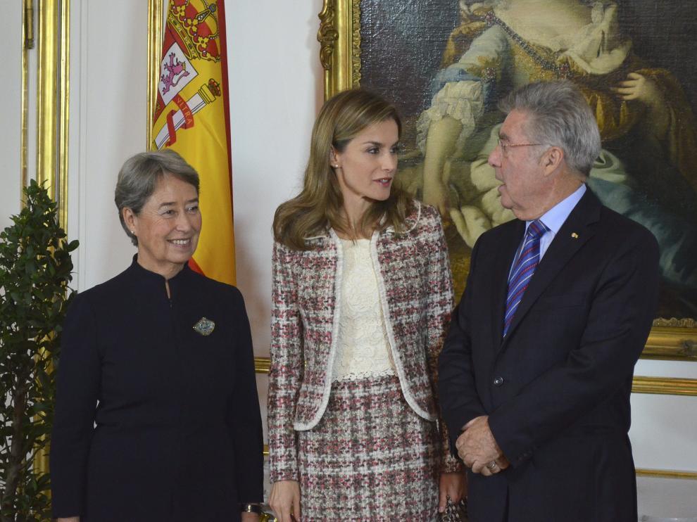 Doña Letizia inaugura en Viena una exposición de Velázquez