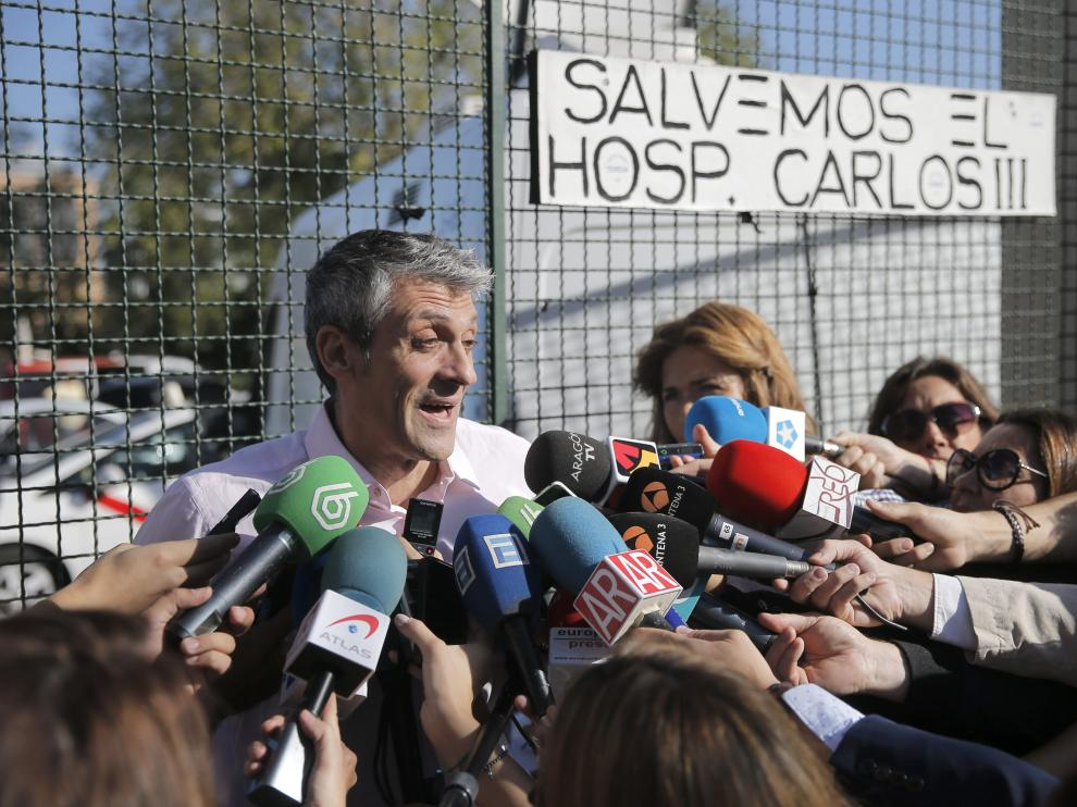 Parra, el médico que atendió a Teresa Romero en Alcorcón