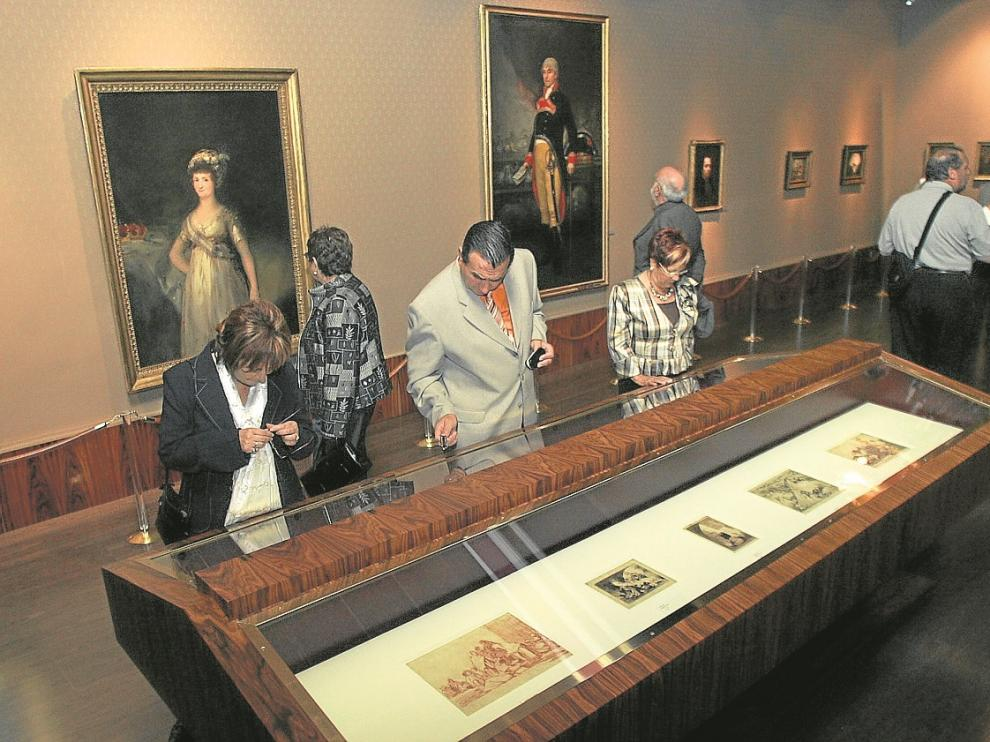 El Salón Dorado del museo es donde se incorporarán más obras de arte nuevas.
