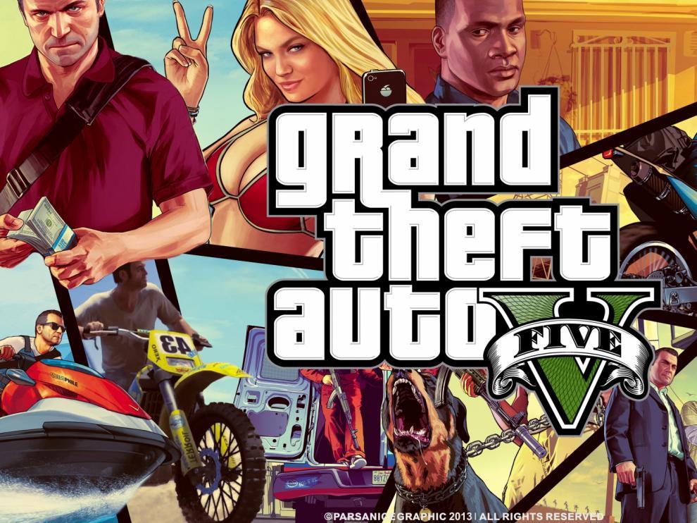 GTA, el videojuego que al parecer estaba imitando el joven.