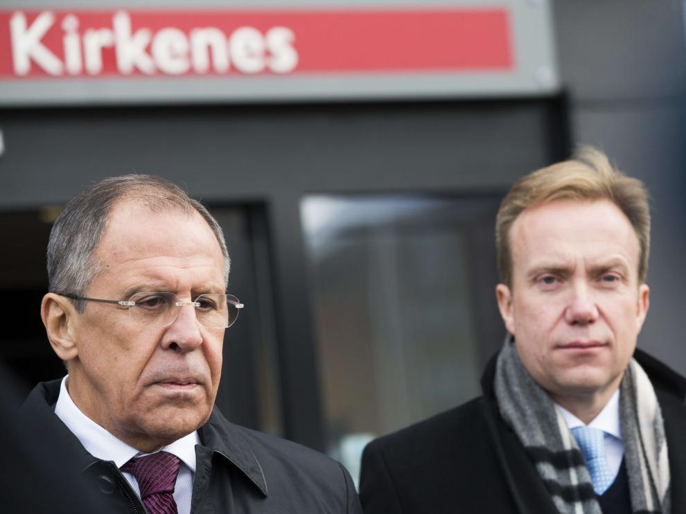 Serguéi Lavrov, ministro de Asuntos Exteriores ruso, en una foto de archivo.