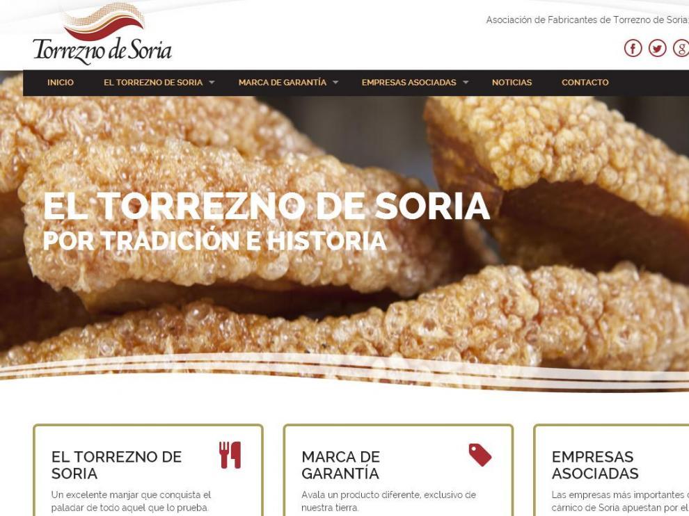 Nueva web de 'Torrezno de Soria'