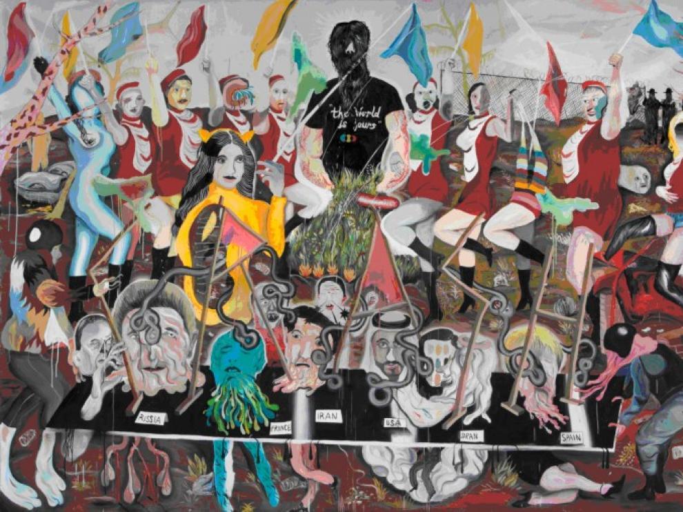 'Viva primary colours, viva!' de Yann Leto
