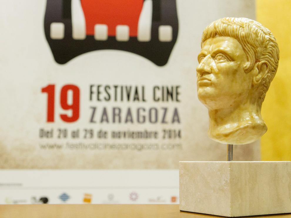 El Festival de Cine de Zaragoza galardonará a los ganadores con esta estatuilla
