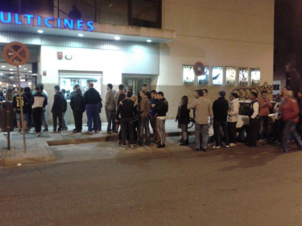 Muchos oscenses han aprovechado la Fiesta del Cine