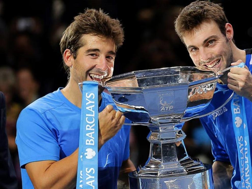 La dupla celebra el último torneo.