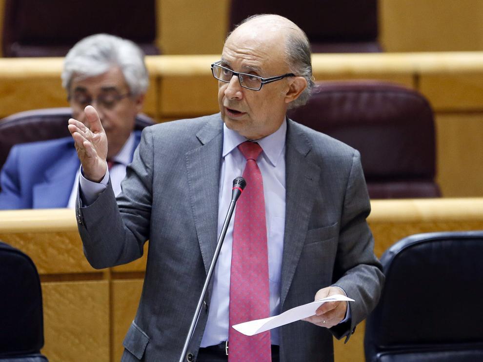 El ministro de Hacienda en una imagen de archivo