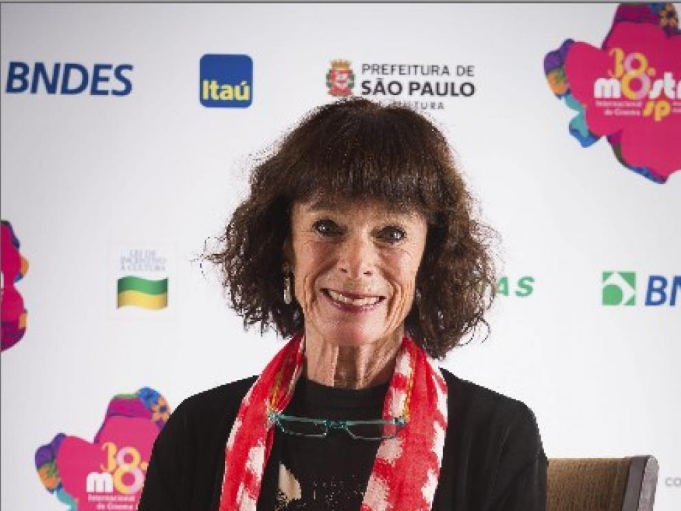 La intérprete británico-estadounidense participa en la 38 Muestra de Cine de Sao Paulo.