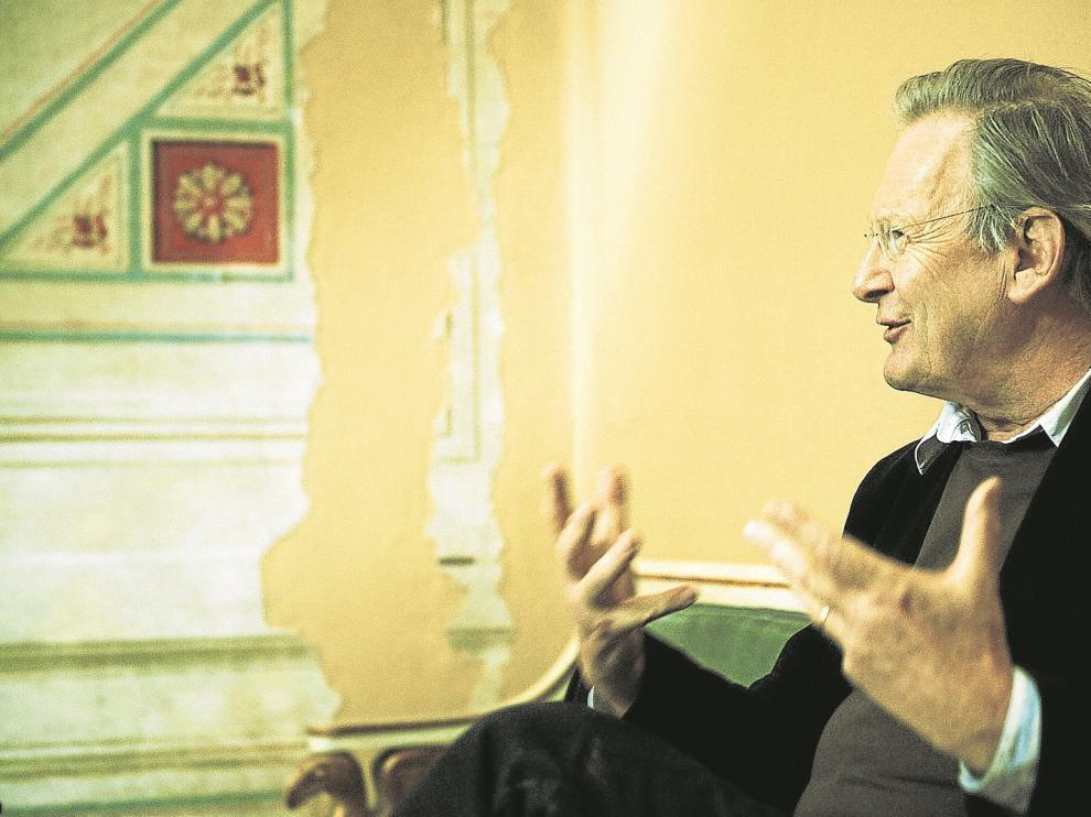 John Eliot Gardiner, director de la Orquesta Revolucionaria y Romántica, vuelve a Zaragoza.