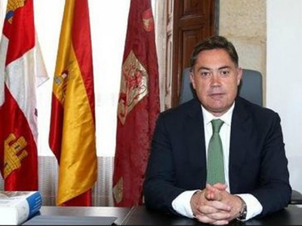 Marcos Martínez, en su despacho de la diputación