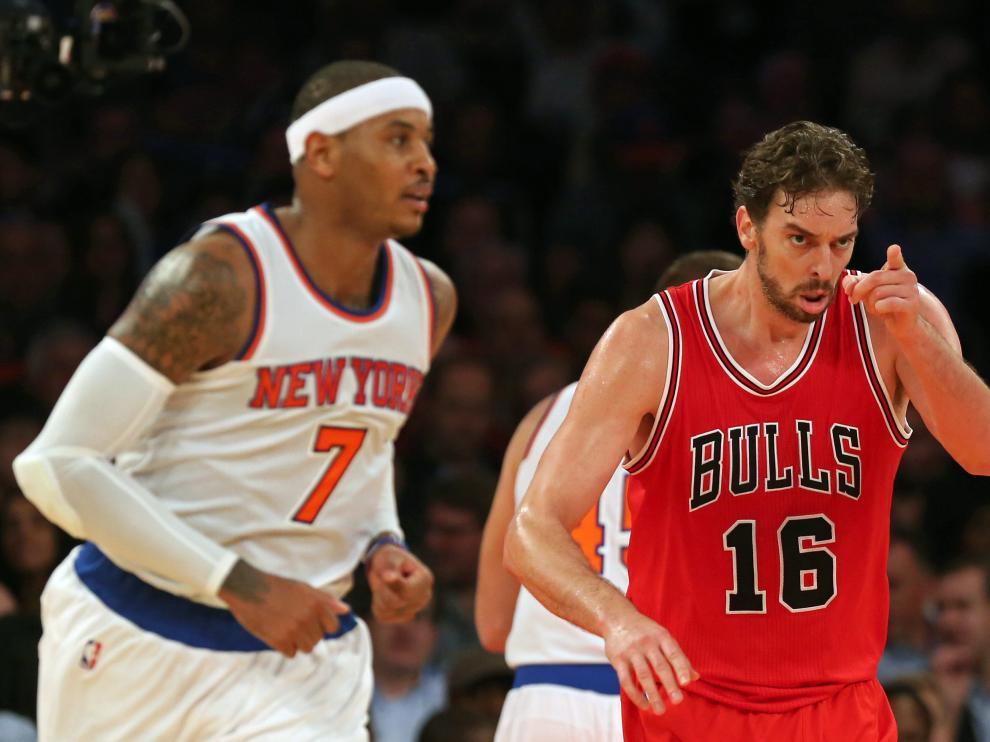 Gasol firmó 21 puntos y 11 rebotes en la victoria de los Bulls