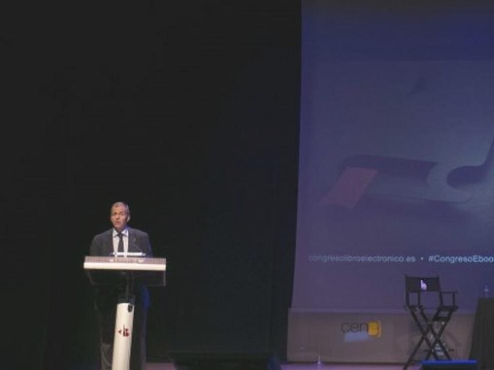 Imagen del congreso del libro electrónico de Barbastro