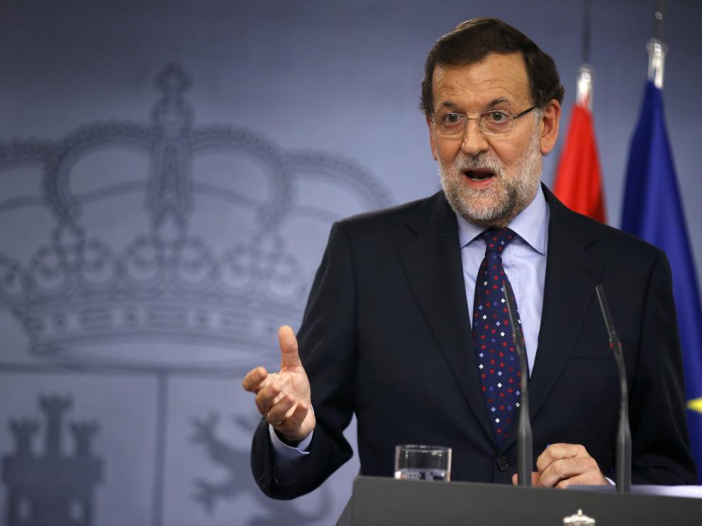 Rajoy fue preguntado por la corrupción en su partido tras reunirse con la presidenta de Chile
