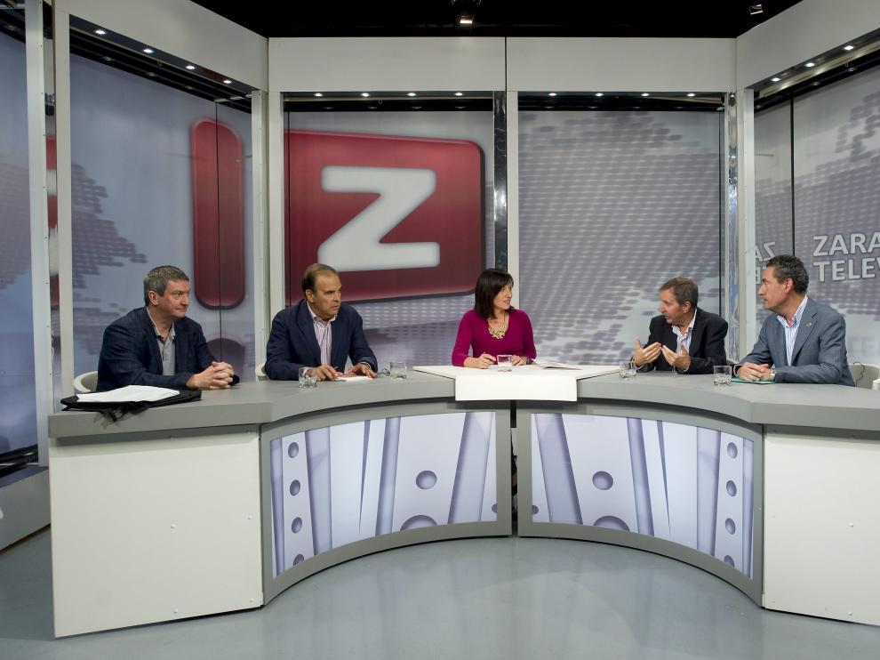Un debate de ZTV en una imagen de archivo