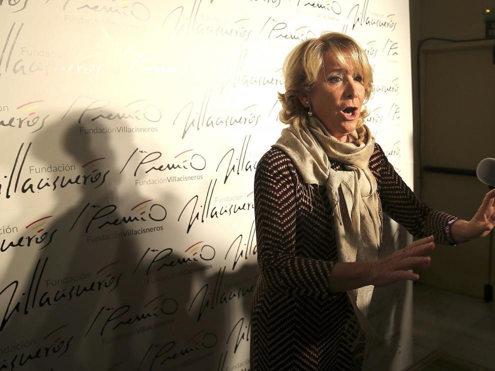 Aguirre pidió que no se le tilde de corrupta