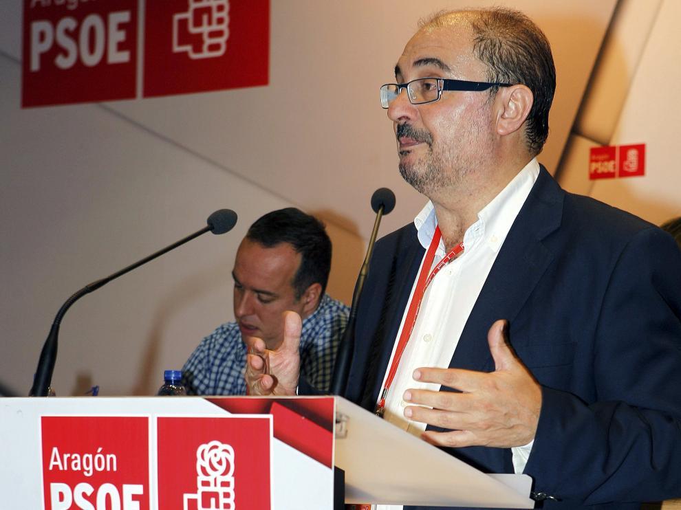 """Lambán: """"La legislatura de Rudi ha pasado en blanco para la provincia de Teruel"""""""