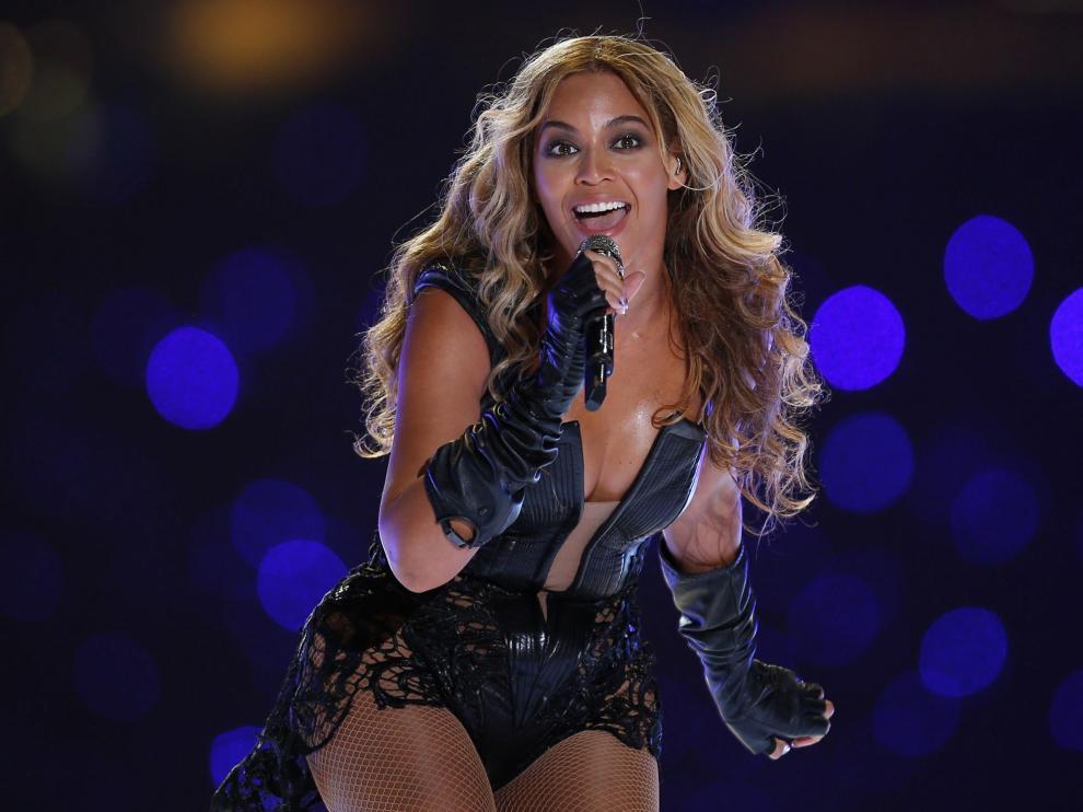 Beyoncé, en concierto