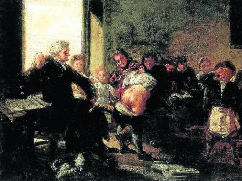 La obra fue pintada entre 1780 y 1785.