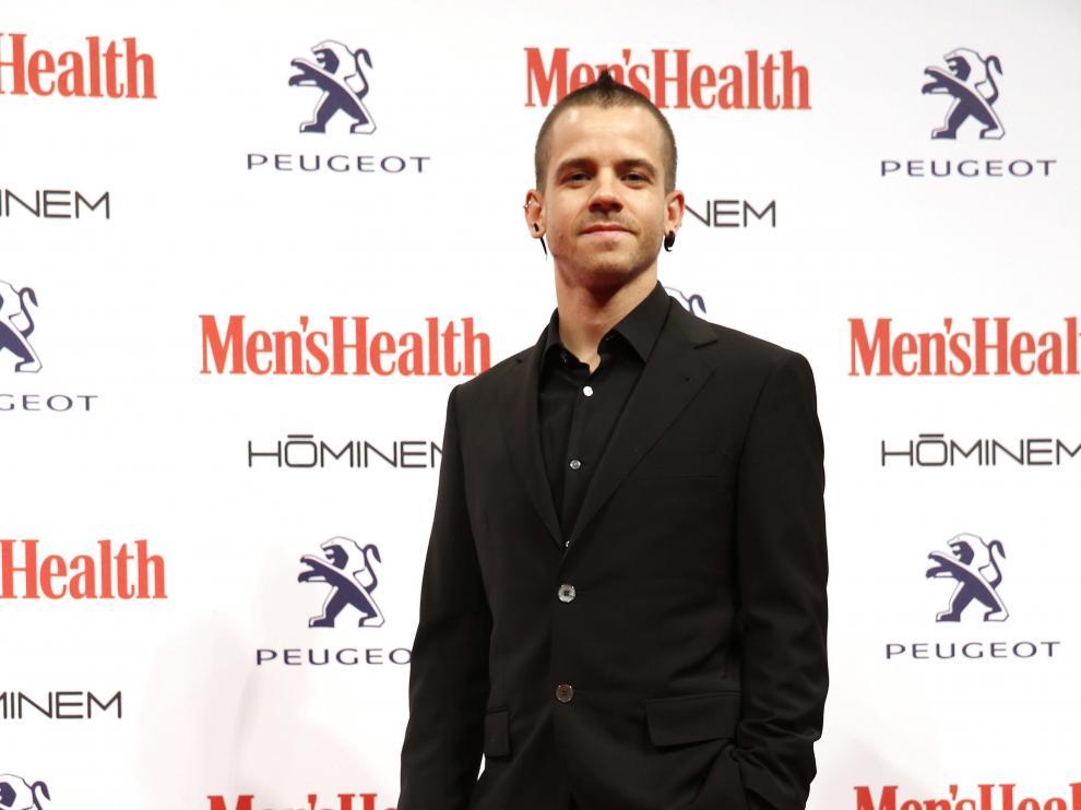 David Muñoz en el acto en el que recibió el galardón 'Hombre del año. Innovación' de Men's Health.