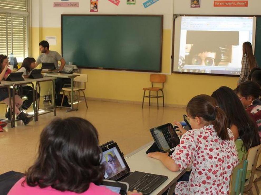 Colegio Montecorona, pionero en libros digitales