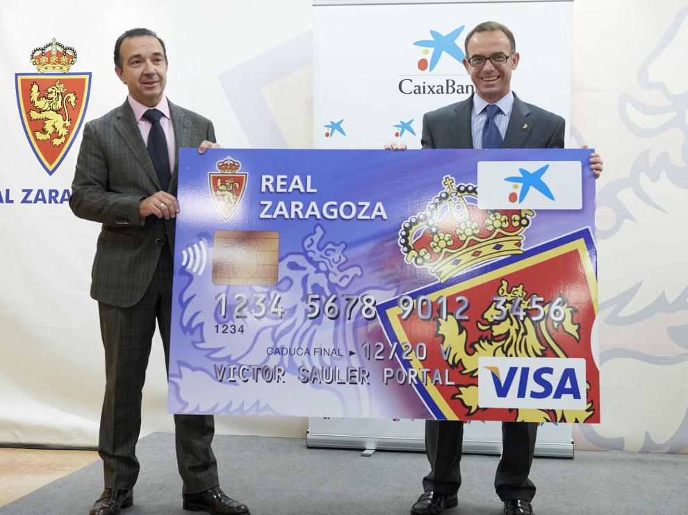 Se ha presentado una nueva tarjeta Visa Real Zaragoza