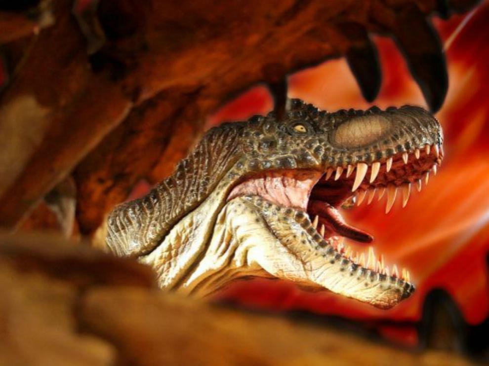 Dino Expo XXL llega a Zaragoza, una exhibición única en Europa