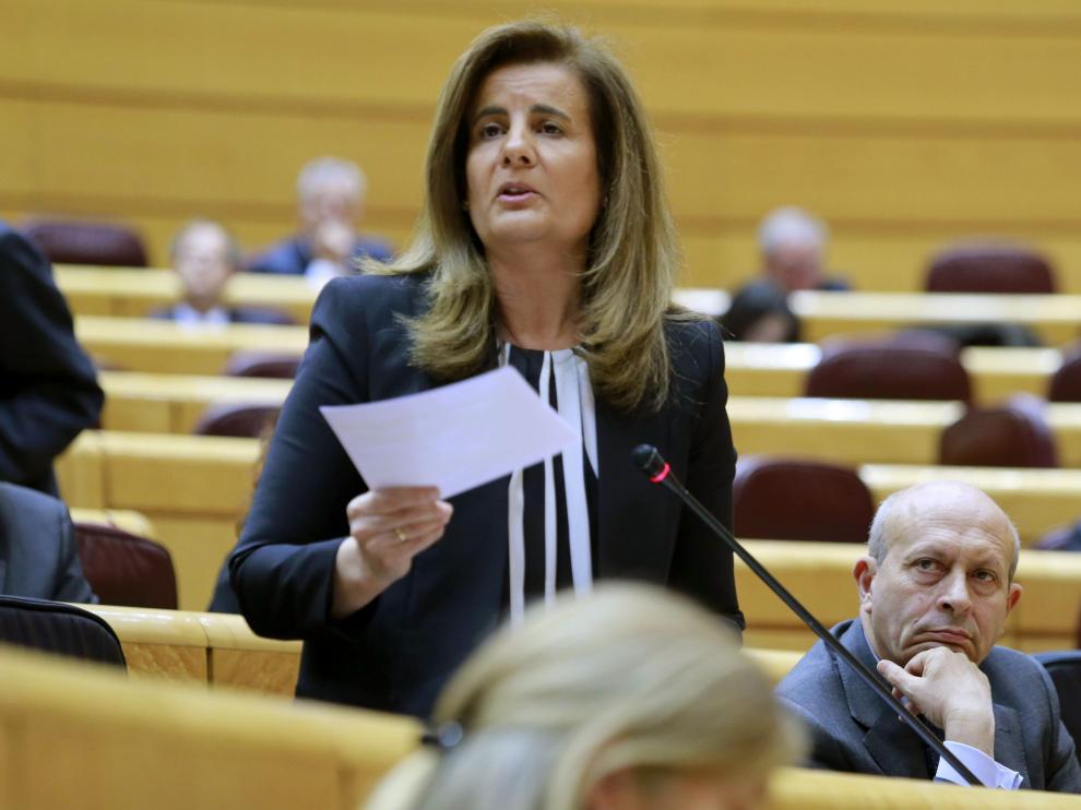 La ministra Báñez en una imagen de archivo