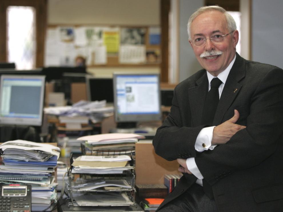Guillermo Fatás, en una imagen de archivo
