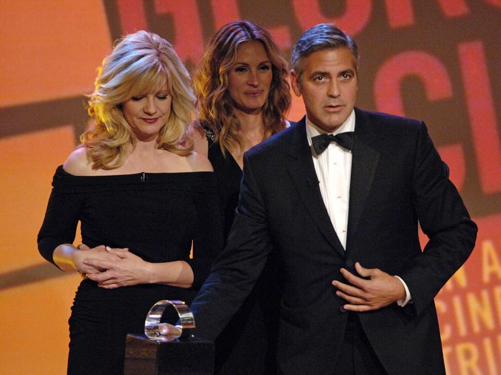 George Clooney y Julia Roberts coincidirán de nuevo en la pelicula 'Money Monster'