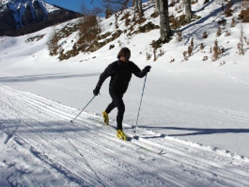 Pistas de esquí nórdico de la Muela de San Juan en la comarca Sierra de Albarracín