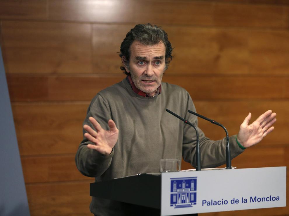El epidemiólogo zaragozano Fernando Simón, director del Centro de Alertas y Emergencias Sanitarias del Ministerio de Sanidad.