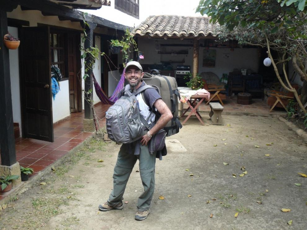 Nacho Martín, en Colombia en 2012