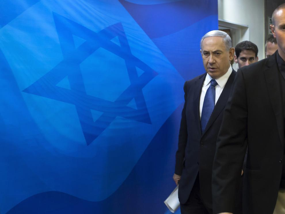 El primer ministro israelí, Benjamin Netanhayu