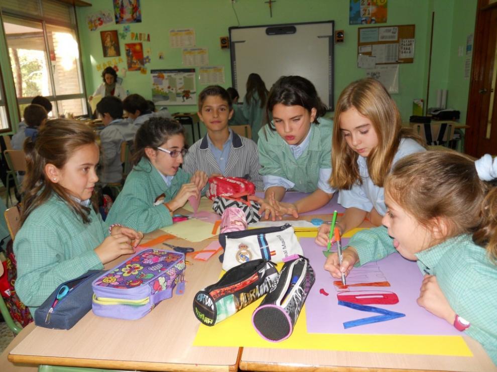Los alumnos preparan la campaña electoral