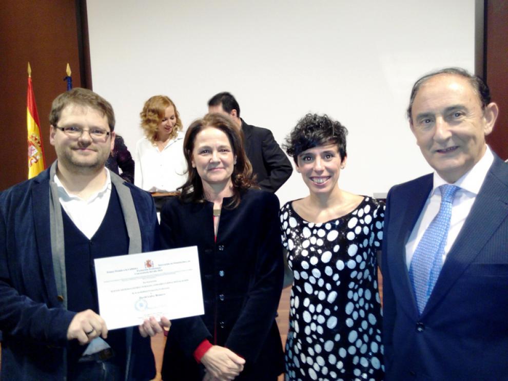 David Galve, Montserrat Gomendio, Natalia Ceña y Ángel de Miguel