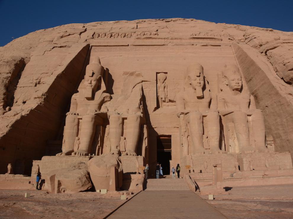Abu simbel, en el sur de Egipto