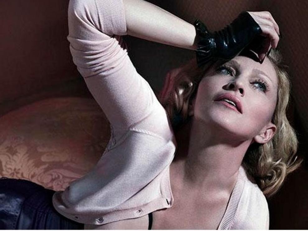Reportaje fotográfico de Madonna para Interiew