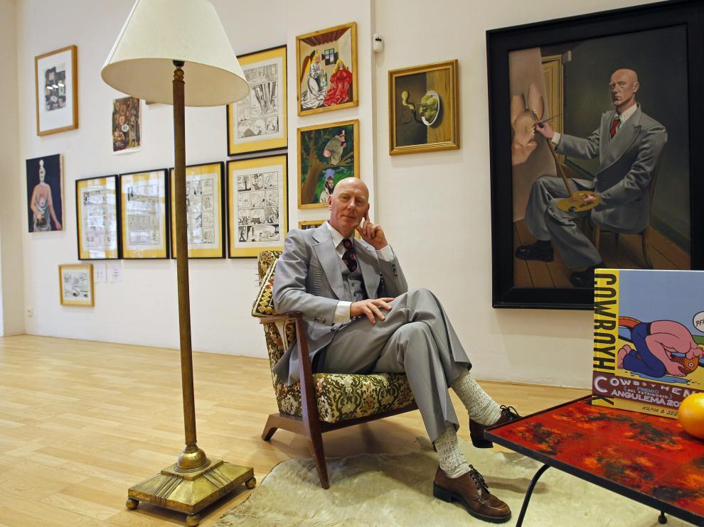 El artista belga Herr Seele