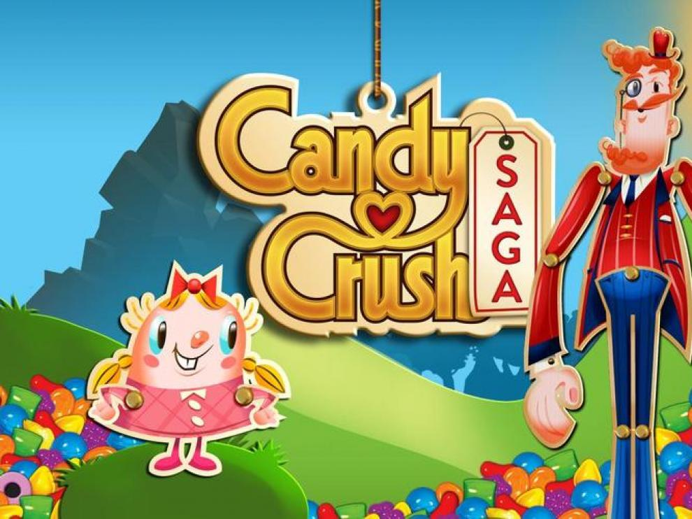 El candy crush es uno de los juegos móviles más populares