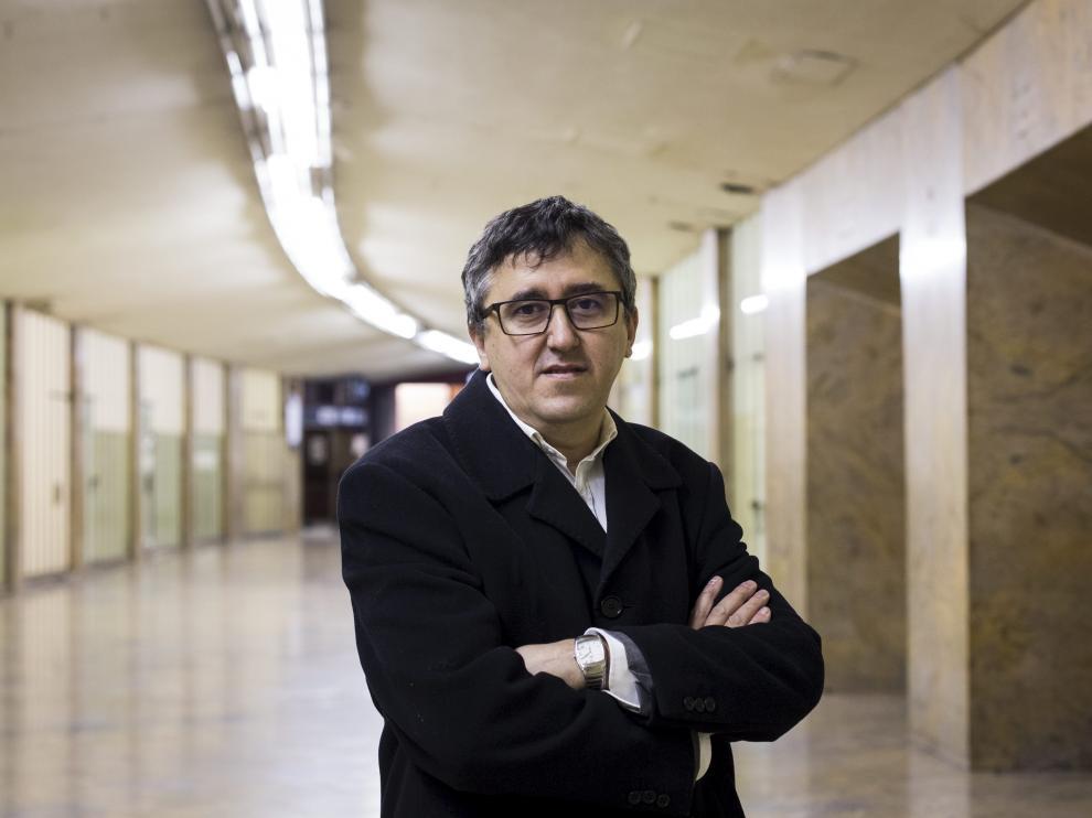 El escritor Ismael Grasa