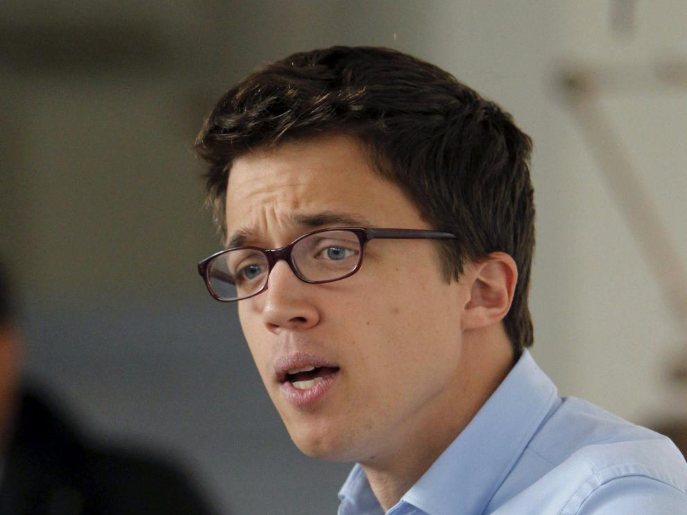 El secretario de Política de Podemos, Íñigo Errejón