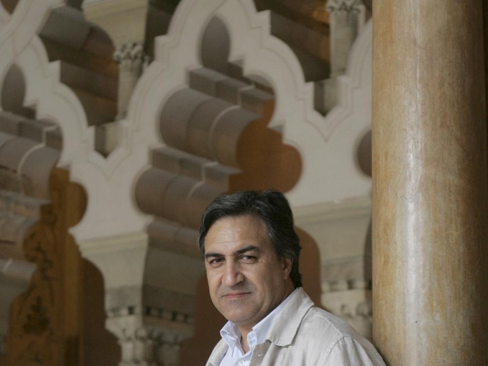 El escritor, José Luis Corral.