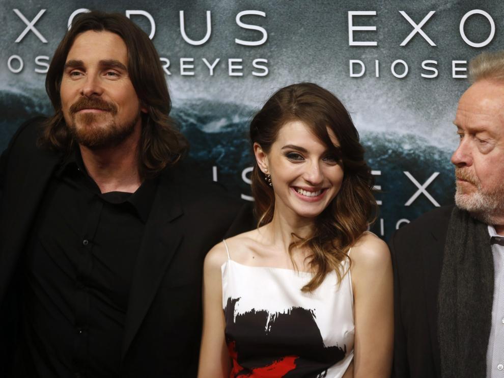 """María Valverde asegura que rodar con Christian Bale """"fue como si se parara el tiempo"""""""