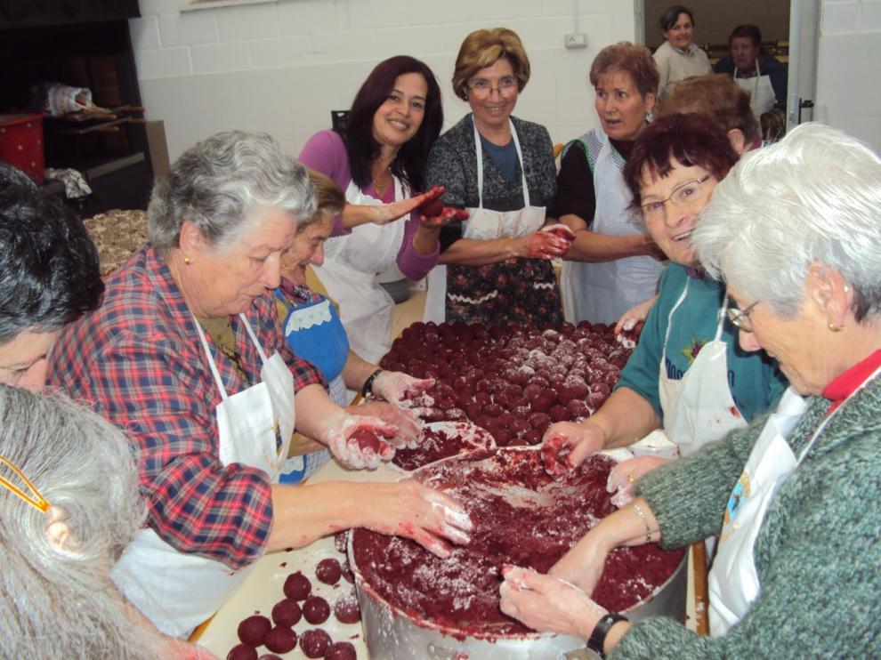 Preparación del mondongo