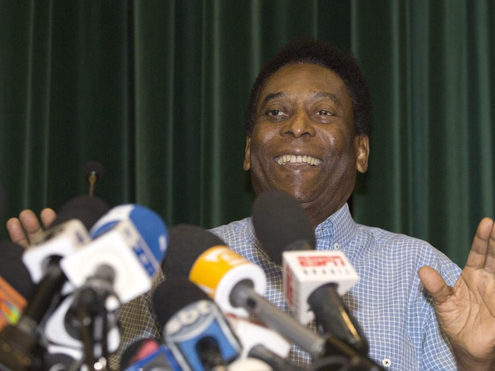 El exfutbolista brasileño Edson Arantes do Nascimento, 'Pele'
