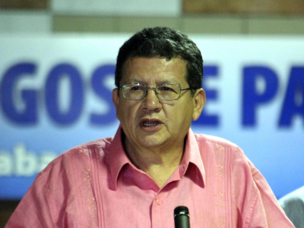 Jorge Torres, miembro del equipo negociador de las FARC