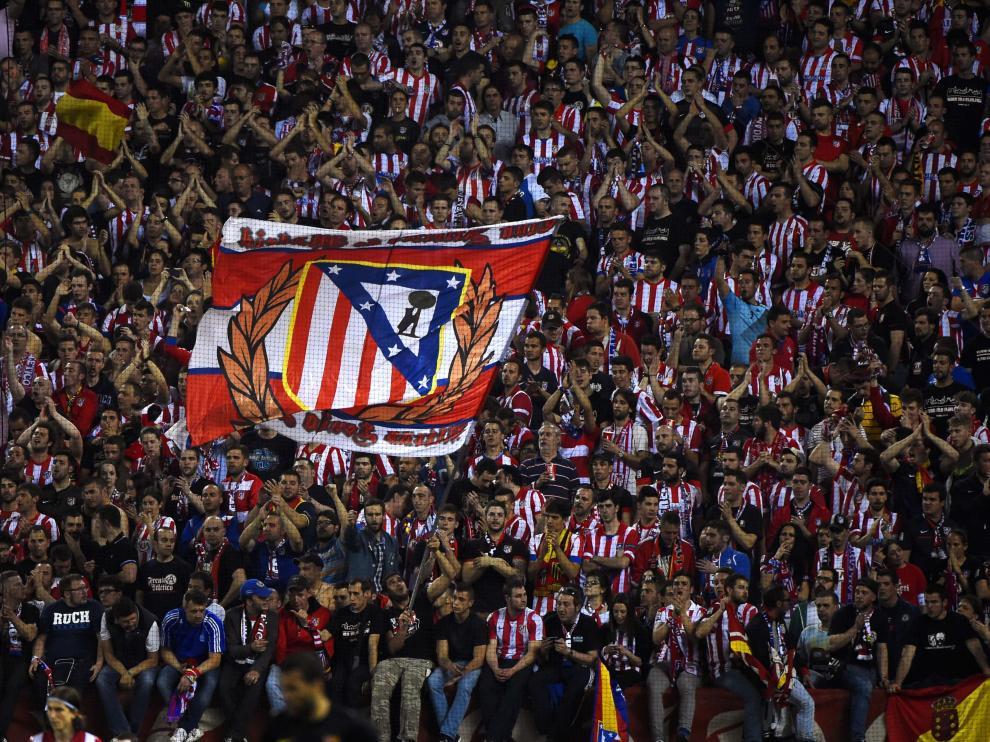 El Frente Atlético, en el Calderón