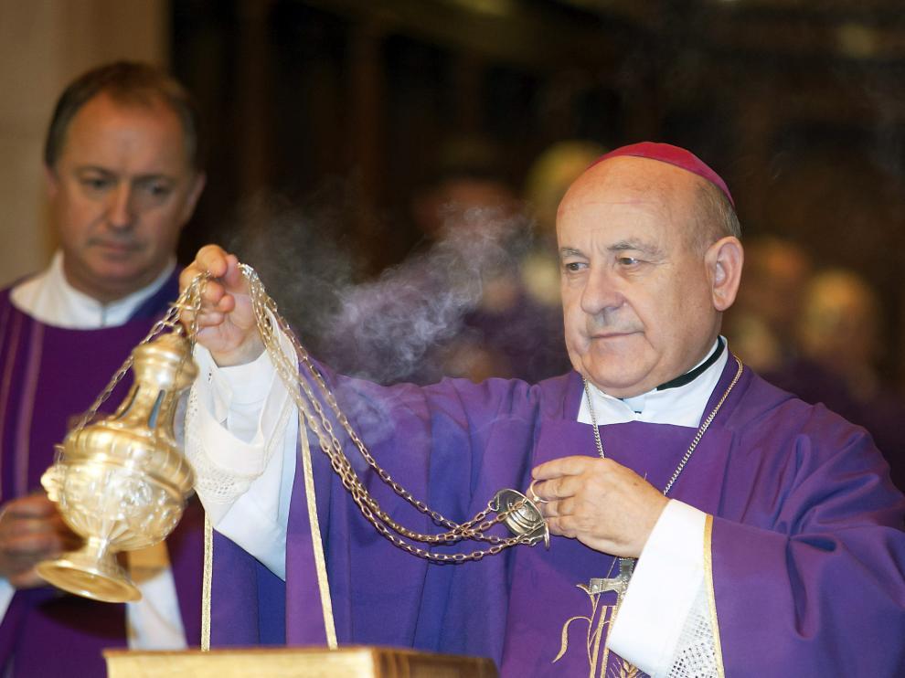 El arzobispo de Zaragoza, Vicente Jiménerez