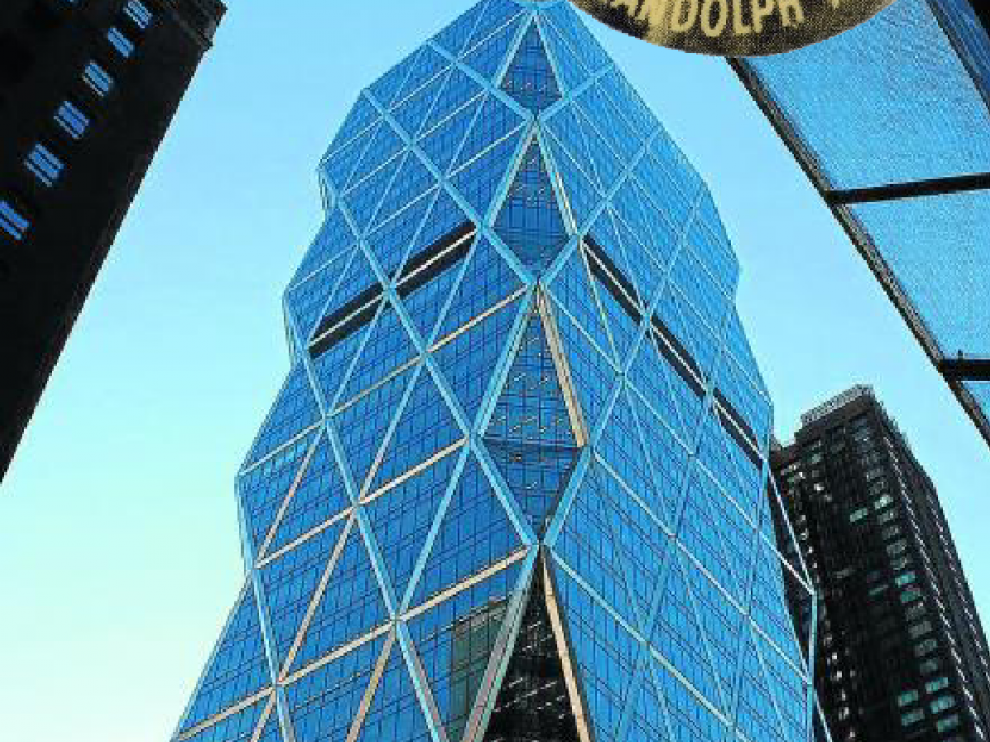 Sede central de Hearst Corporation en Manhattan.